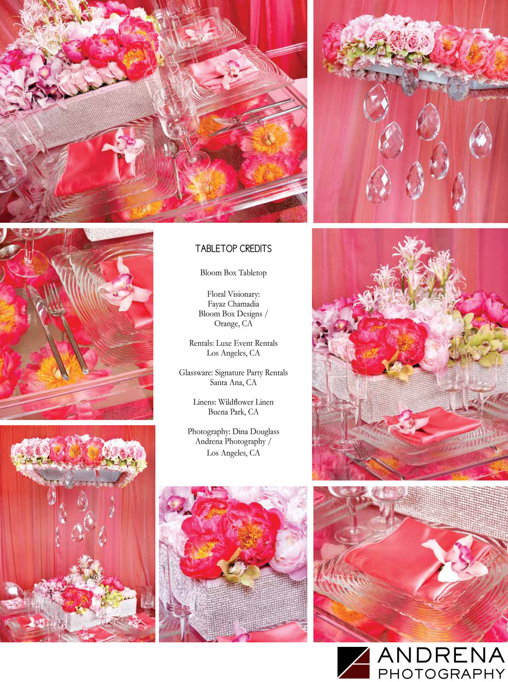 Bloom Box Designs Pink Tabletop South Asian Bride Magazine