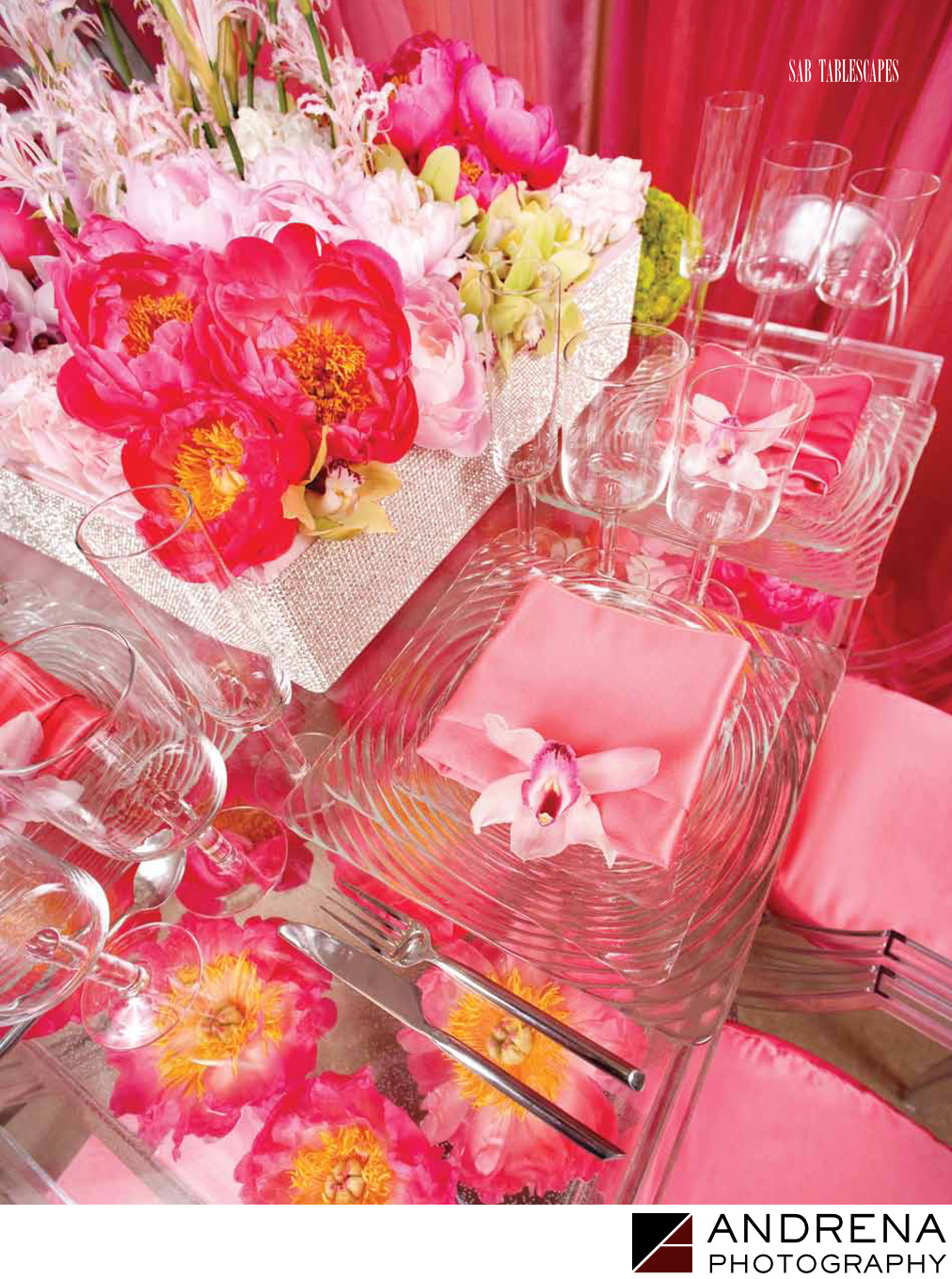 Pink Flowers Bloom Box