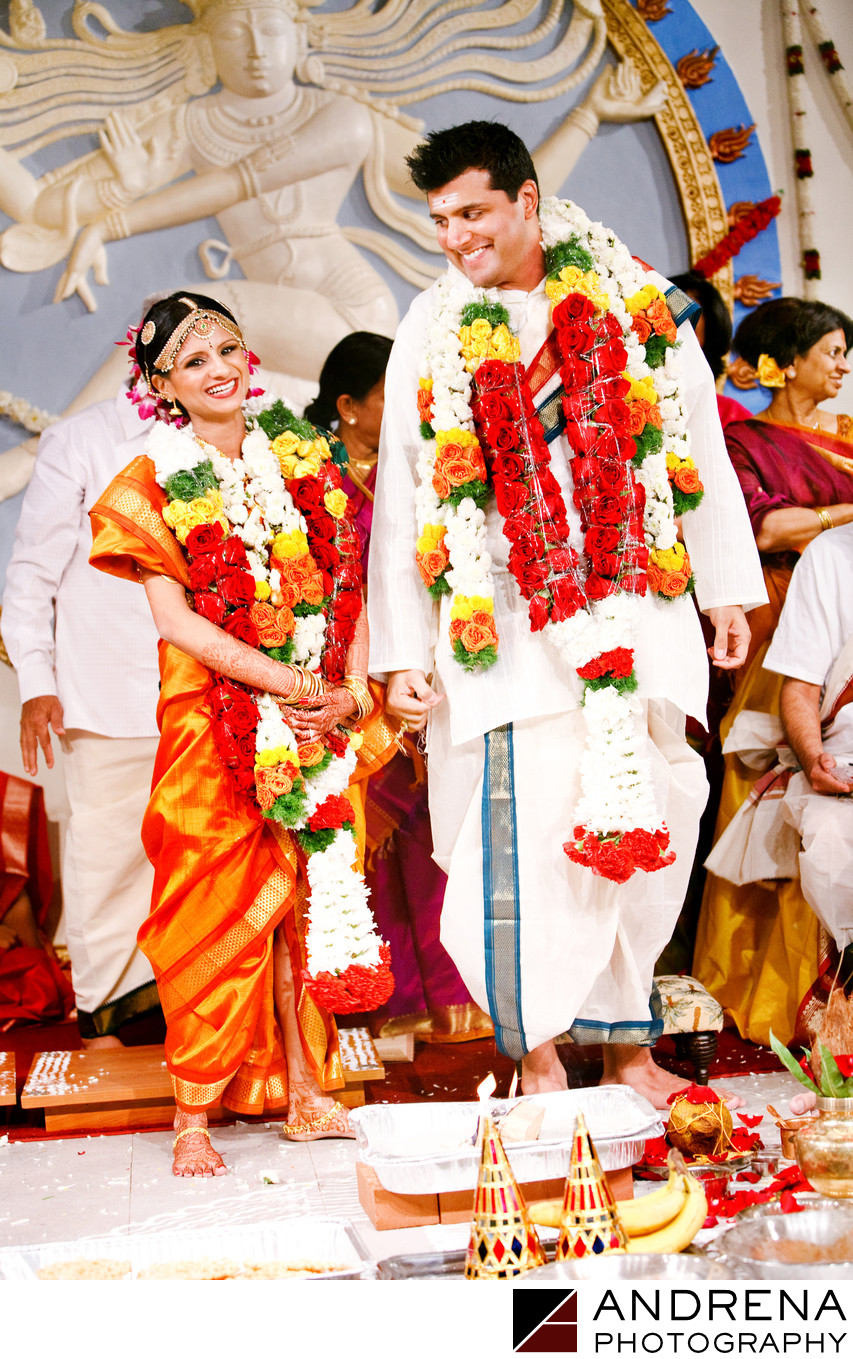 Malibu Temple South Indian Wedding Photographer