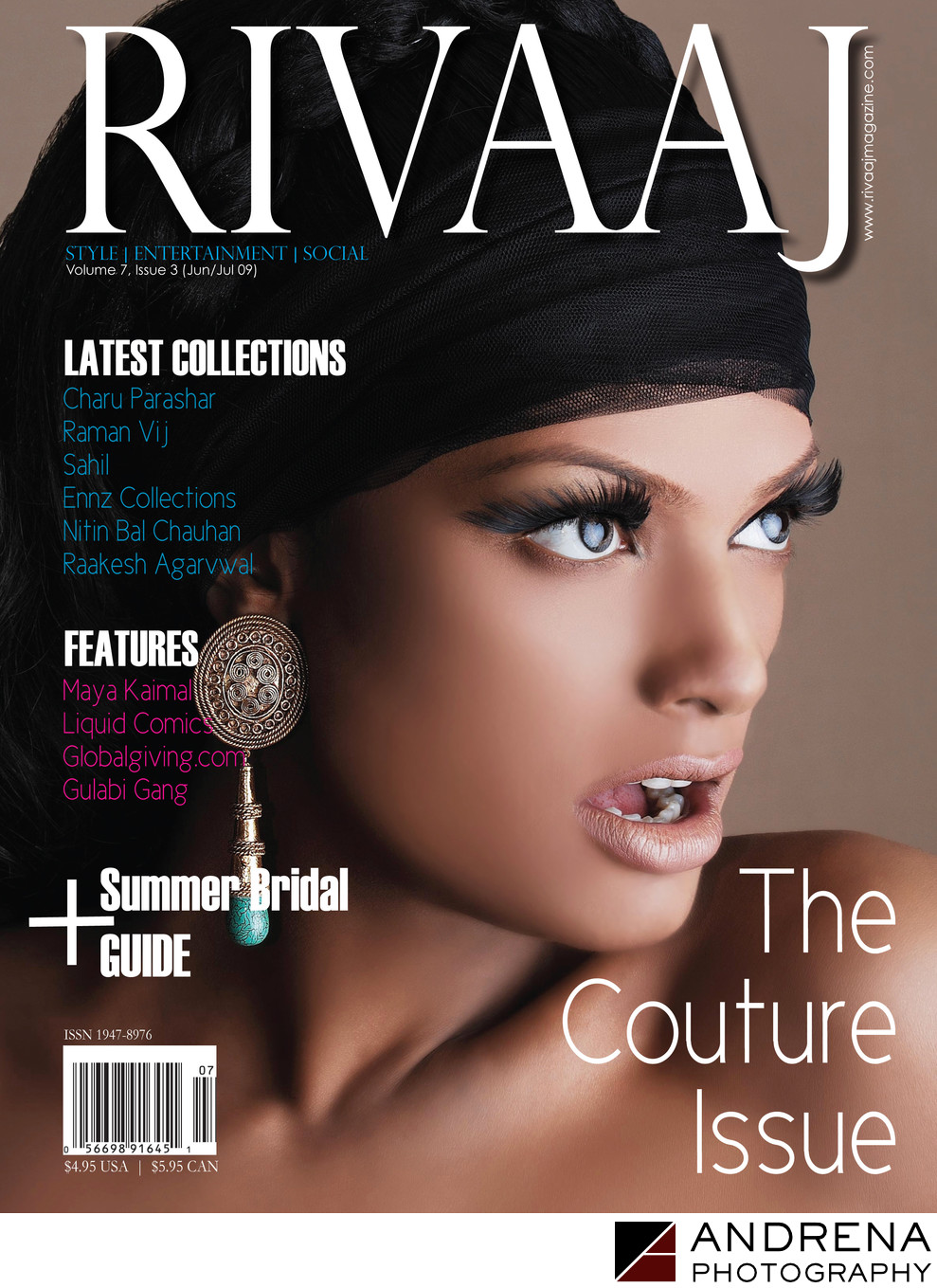 Rivaaj Wedding Magazine Cover