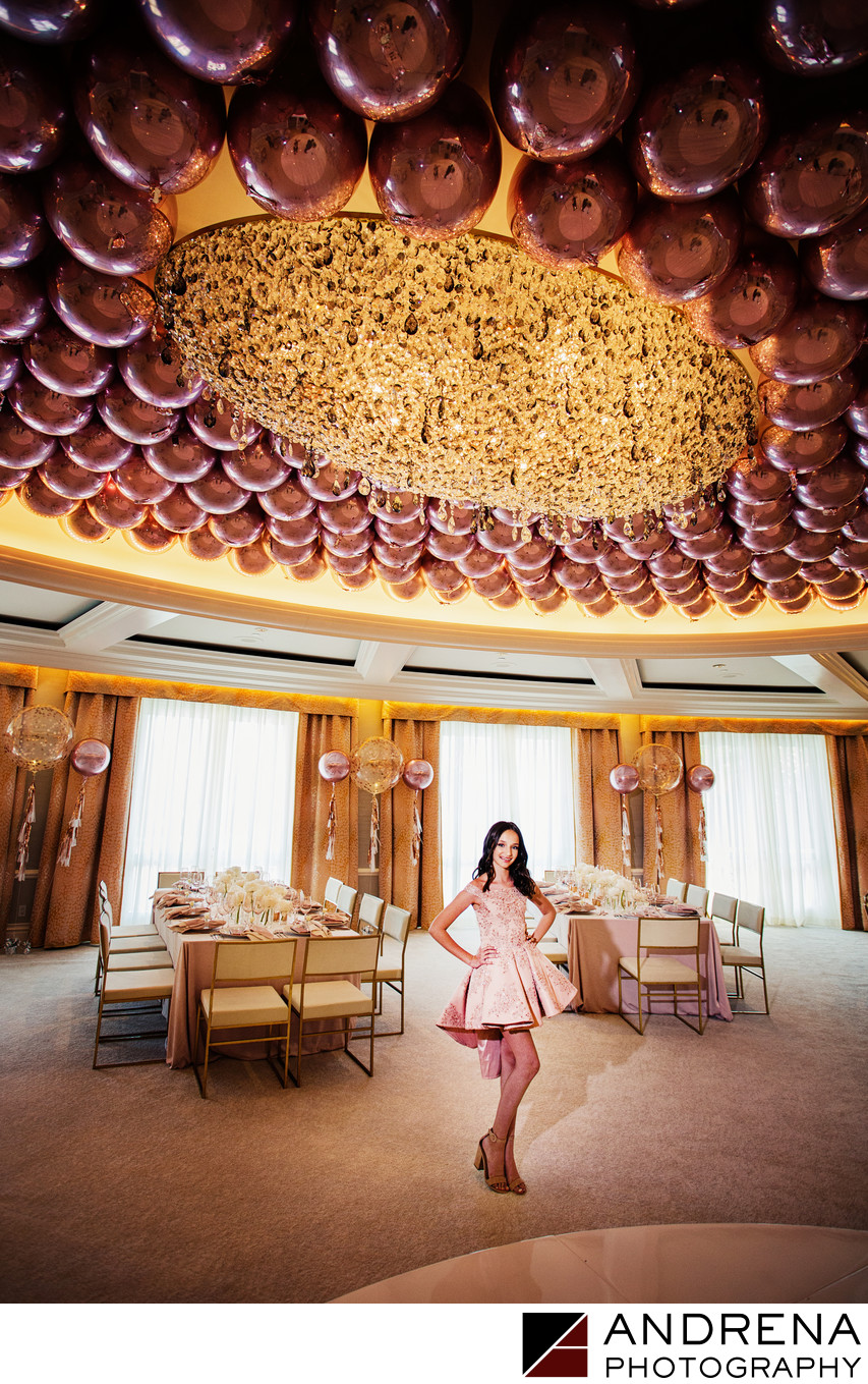 Rodeo Room Bat Mitzvah Beverly Hills Hotel