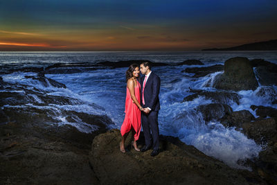 Beach Engagement Sessions Orange County