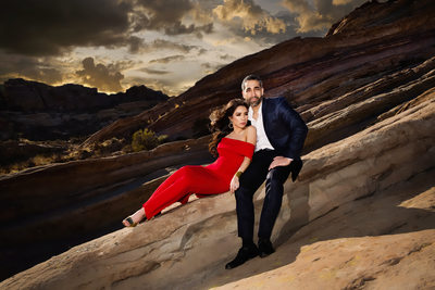 Vasquez Rocks Engagement Photos and Pre-Wedding Locations