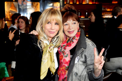 Rosanna Arquette and Frances Fisher The Ghetto School