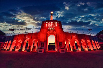 Los Angeles Coliseum Red Alert Restart We Make Events 2