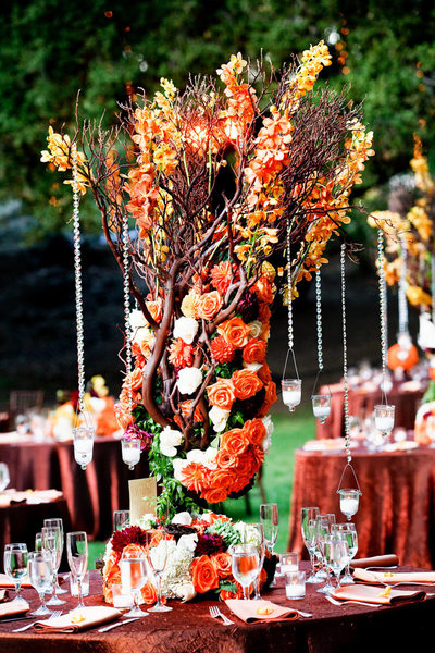 Saddlerock Ranch Wedding in Fall Colors