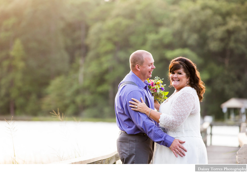 Vow Renewal in Chesapeake Park