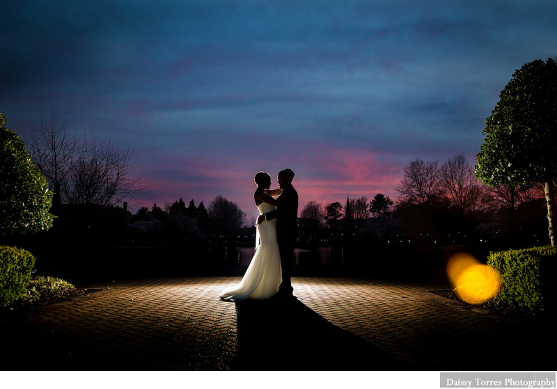 Sunset Wedding in Founders Inn
