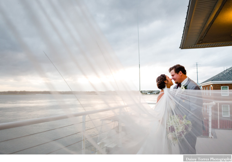 Veil Shot Bride Virginia Beach