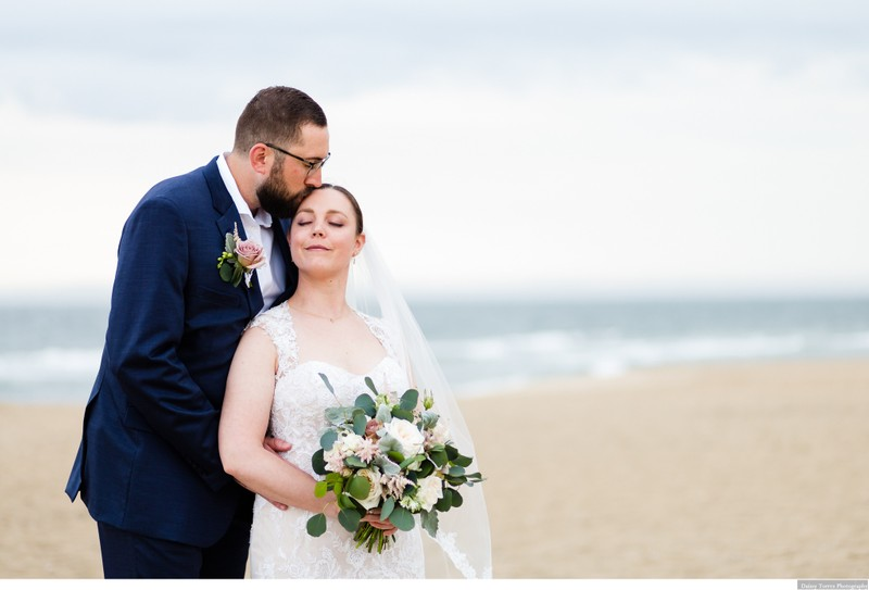Shifting Sands romantic wedding