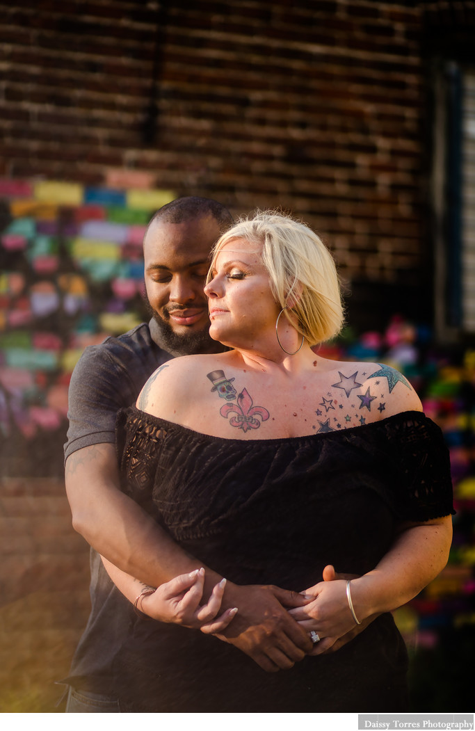 Downtown Norfolk Neon District Engagement