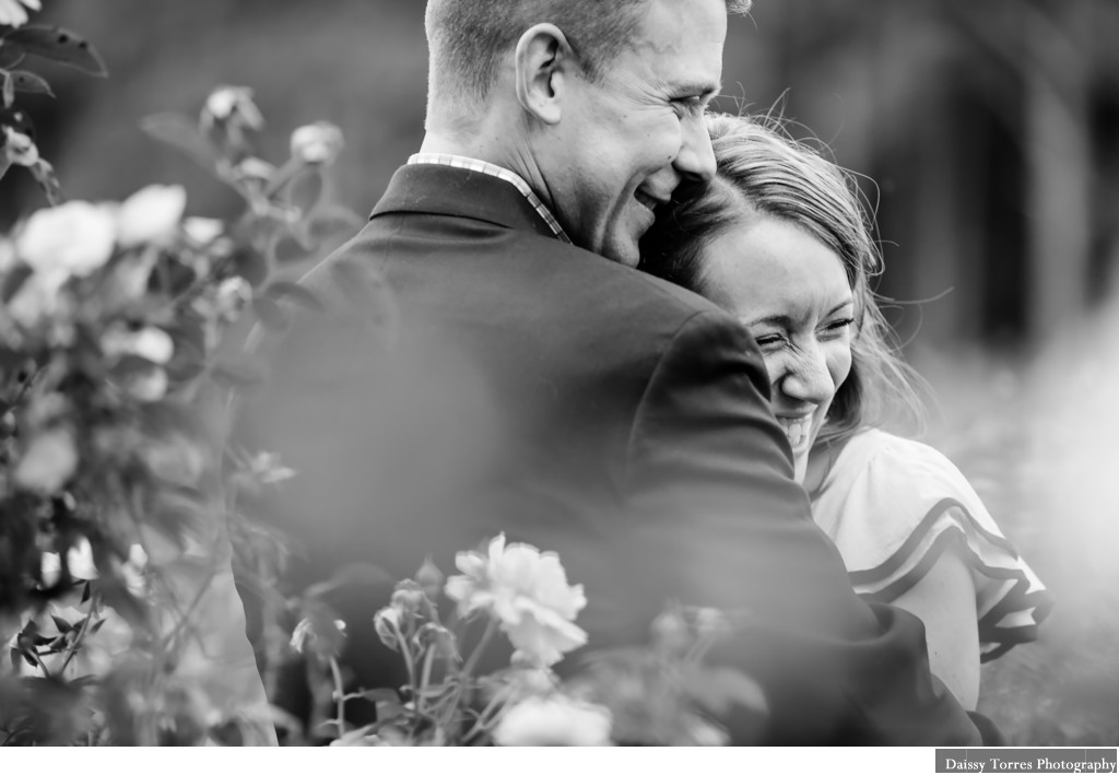 A Norfolk Botanical Garden Engagement Session