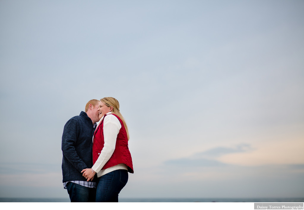 Virginia Beach Sky Engagement Session