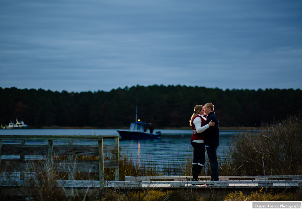Engagement Session in Virginia Beach