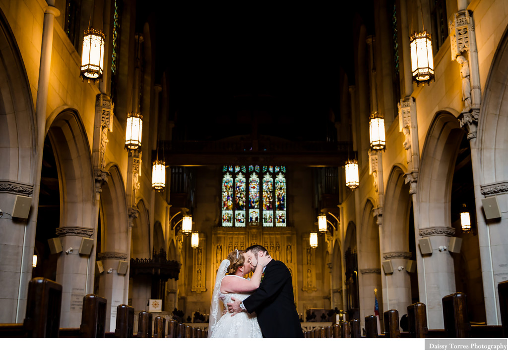 Christ & St. Luke Episcopal Church Wedding Photographer