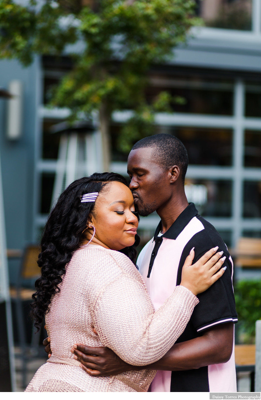 Downtown Norfolk Hotel Engagement Photographer