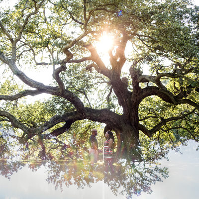 Emancipation Oak Tree's Engagement Session