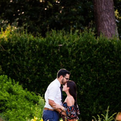 Norfolk Botanical Garden Rainy Proposal