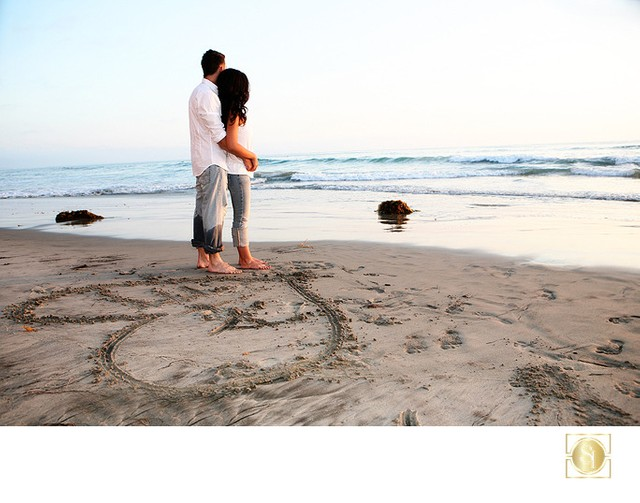 Engagement and Wedding Photographer San Diego Beach
