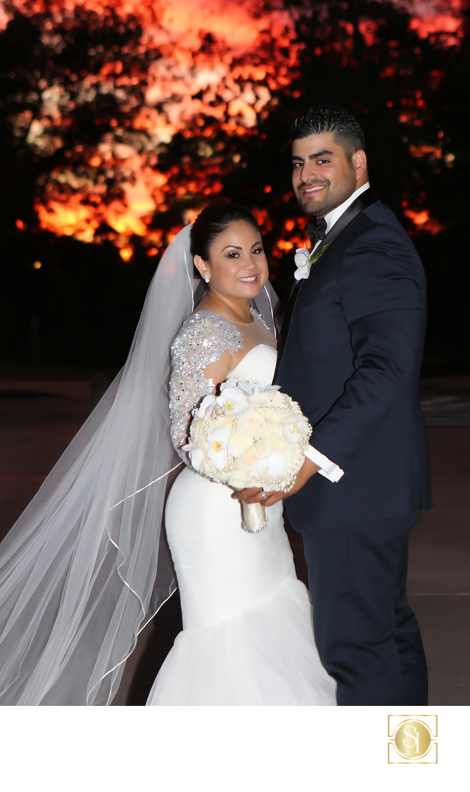 Wedding Photos for the Prado Balboa Park Sunset