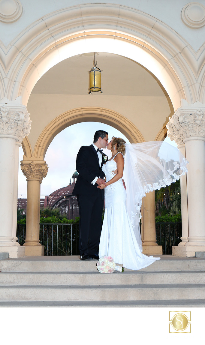 Garden Wedding in Balboa Park San Diego California
