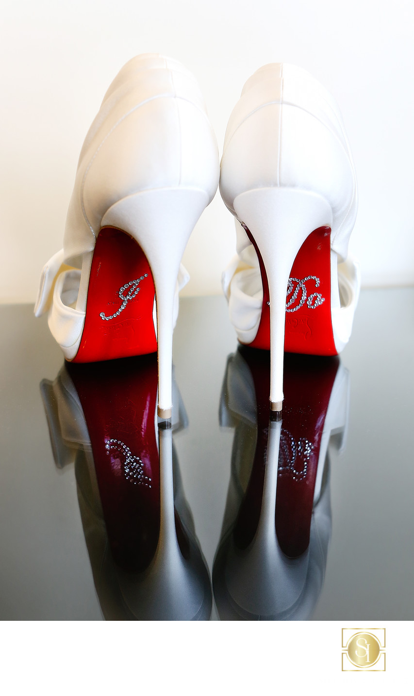 San Diego Hotel Wedding Photographer | Wedding Louboutins