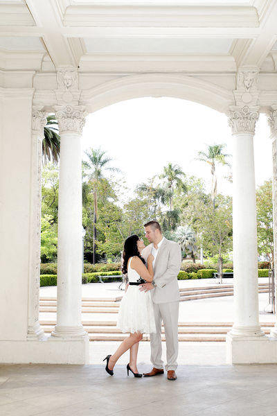 San Diego Wedding Photographer balboa park engagement