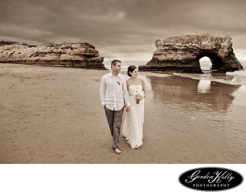 Natural Bridges Wedding photography, Santa Cruz