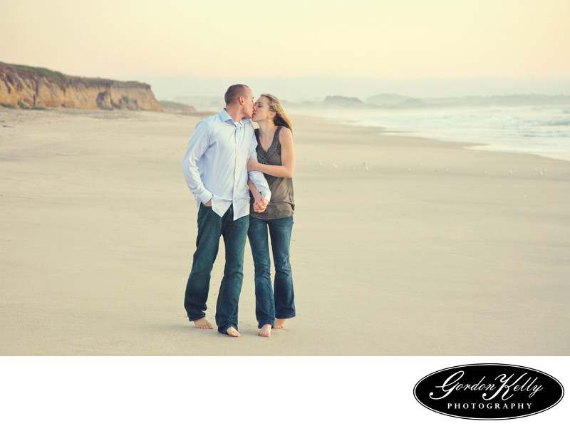 Half Moon Bay Engagement Photographer