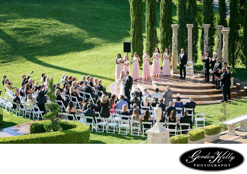 Grand Island Mansion wedding photo