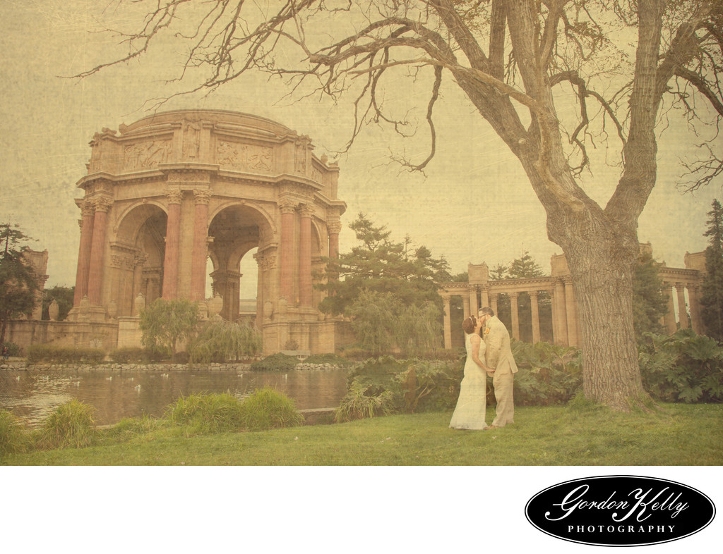 San Francisco Palace of Fine Arts wedding