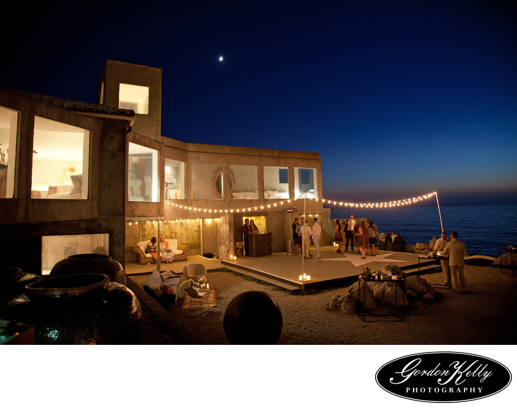 Villa Montara , Beach wedding, Half Moon Bay wedding