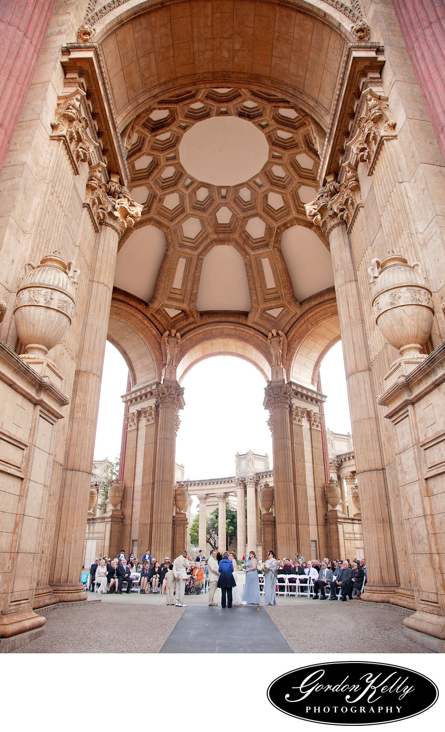 Palace of Fine Arts wedding photographer