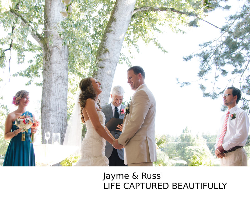 Lewis & Clark Eugene Oregon Wedding Photographer