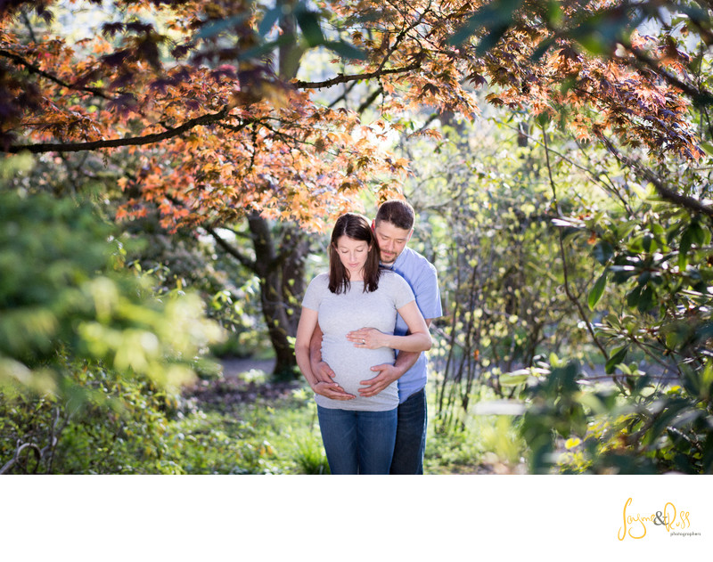 Eugene Oregon Maternity Photography by Jayme & Russ