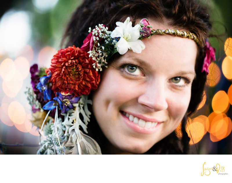 Boho Chic Flower Child Head dress.