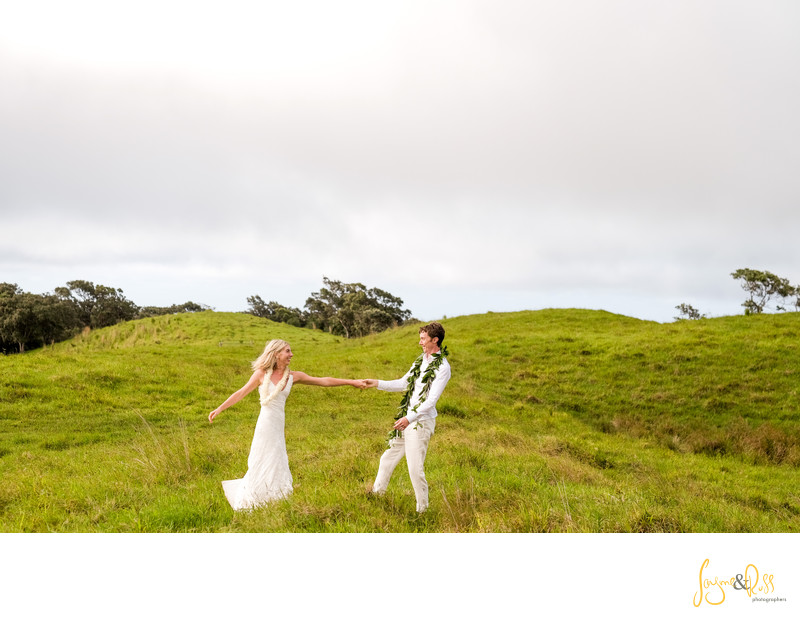 Honokaa Private Ranch Wedding, Big Island Hawaii