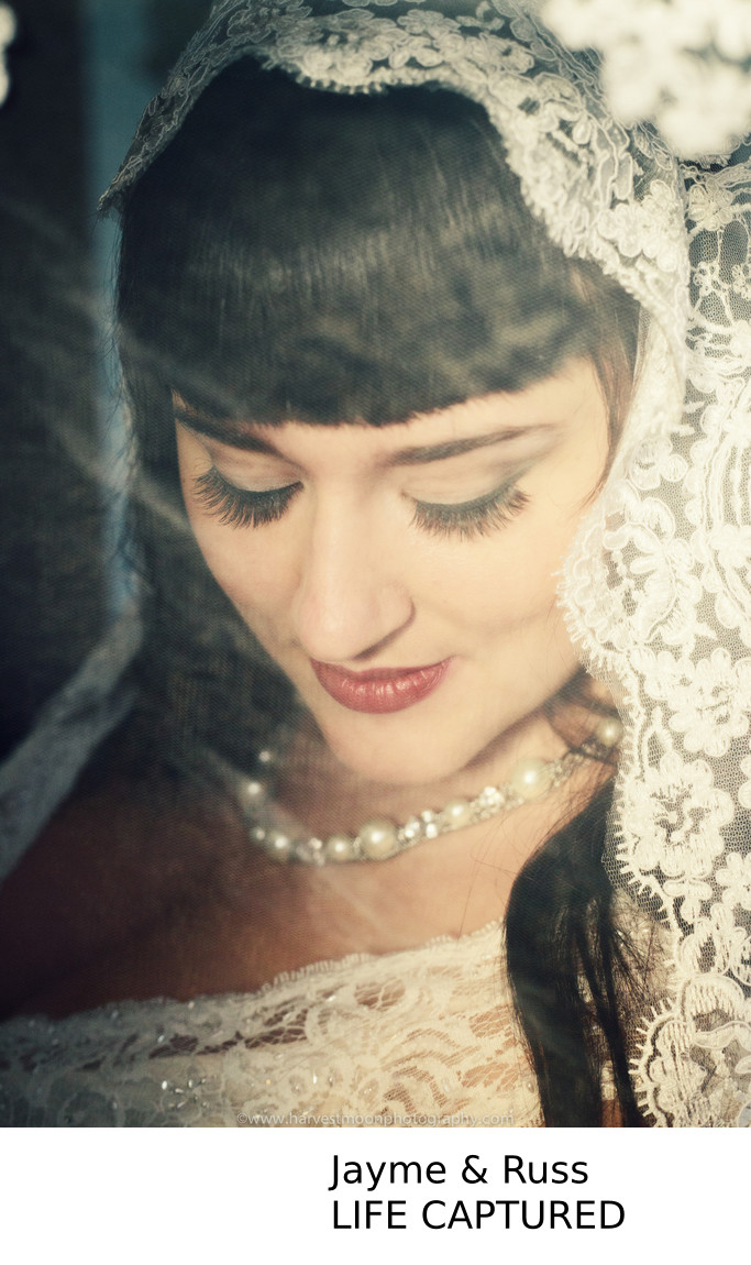 Bridal Portrait at Queen-Anne Portland