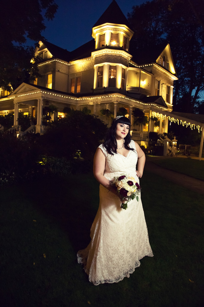 Victorian themed wedding at the Queen Anne in Portland Oregon