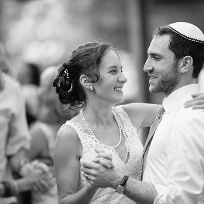 A jewish wedding at Mt. Pisgah