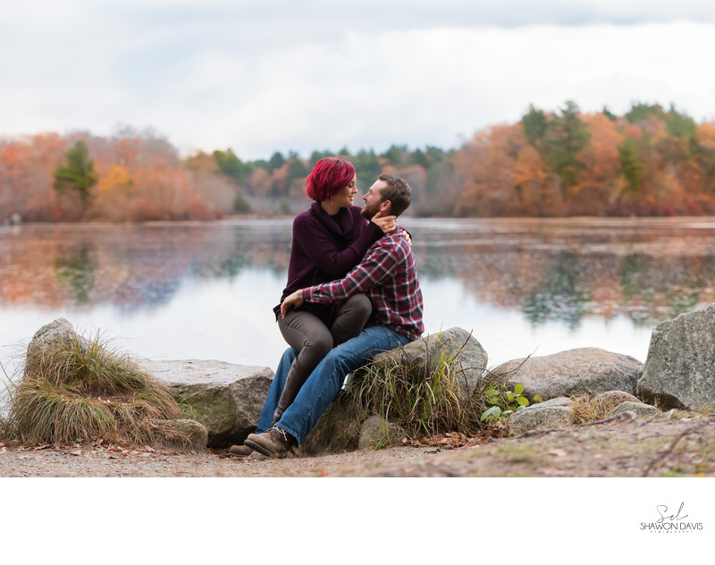 Engagement Pictures at Borderland State Park