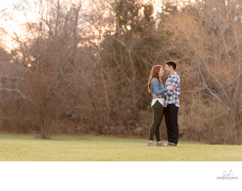 Choate Park Engagement Photos