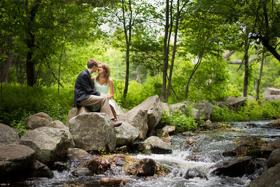 Summer Engagement Pictures at Borderland State Park