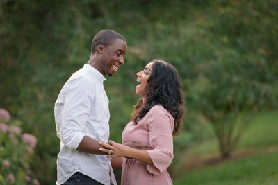 Summer Engagement Session at Arnold Arboretum