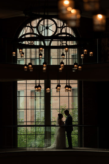 Wedding Photographer at Liberty Hotel