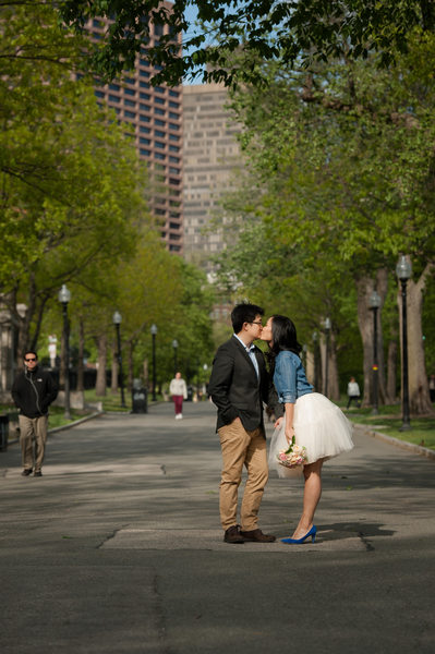 Boston Commons Engagement Photos