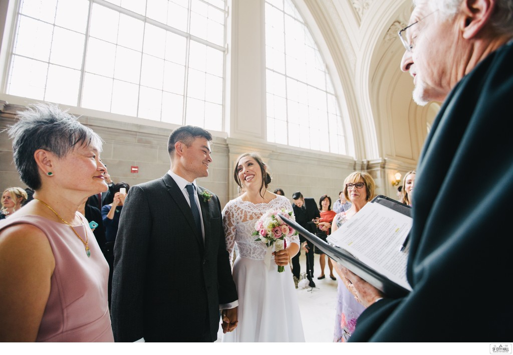 Mothers at SF City Hall Wedding