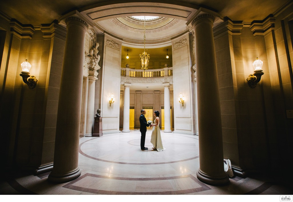 Couple at the Rotunda