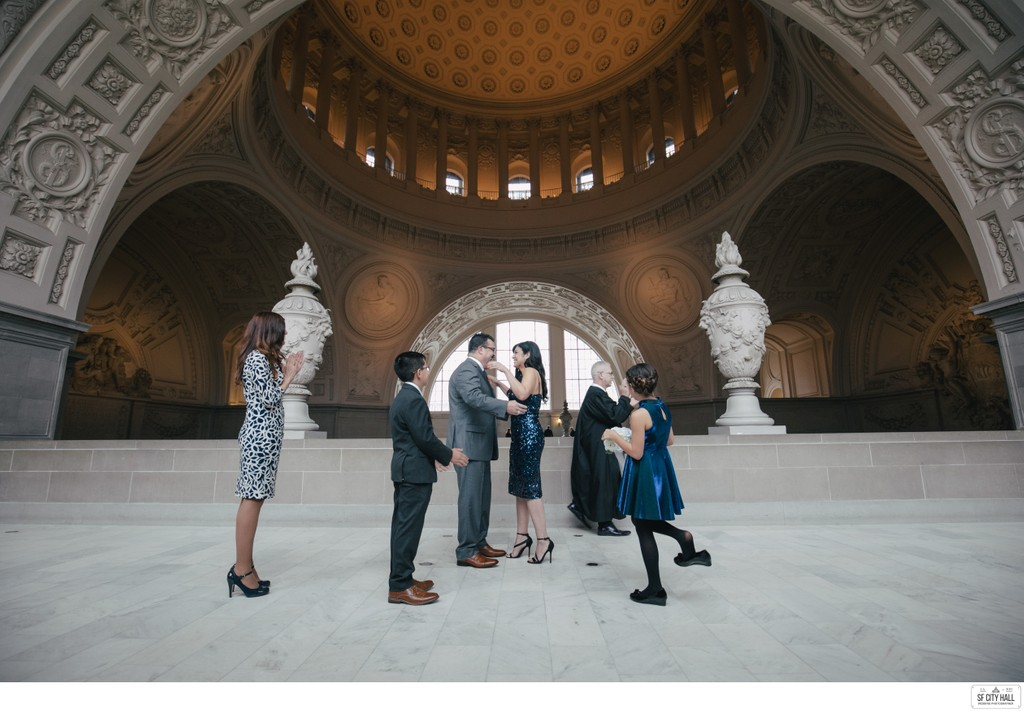 Kids at City Hall Wedding