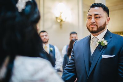 Groom at SF City Hall